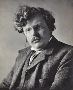 G.K. Chesterton. Bron: Wikipedia.org